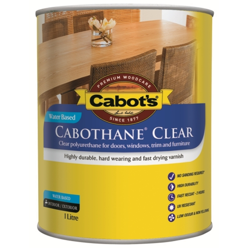 Cabot S Cabothane Clear Water Based Questions Amp Answers