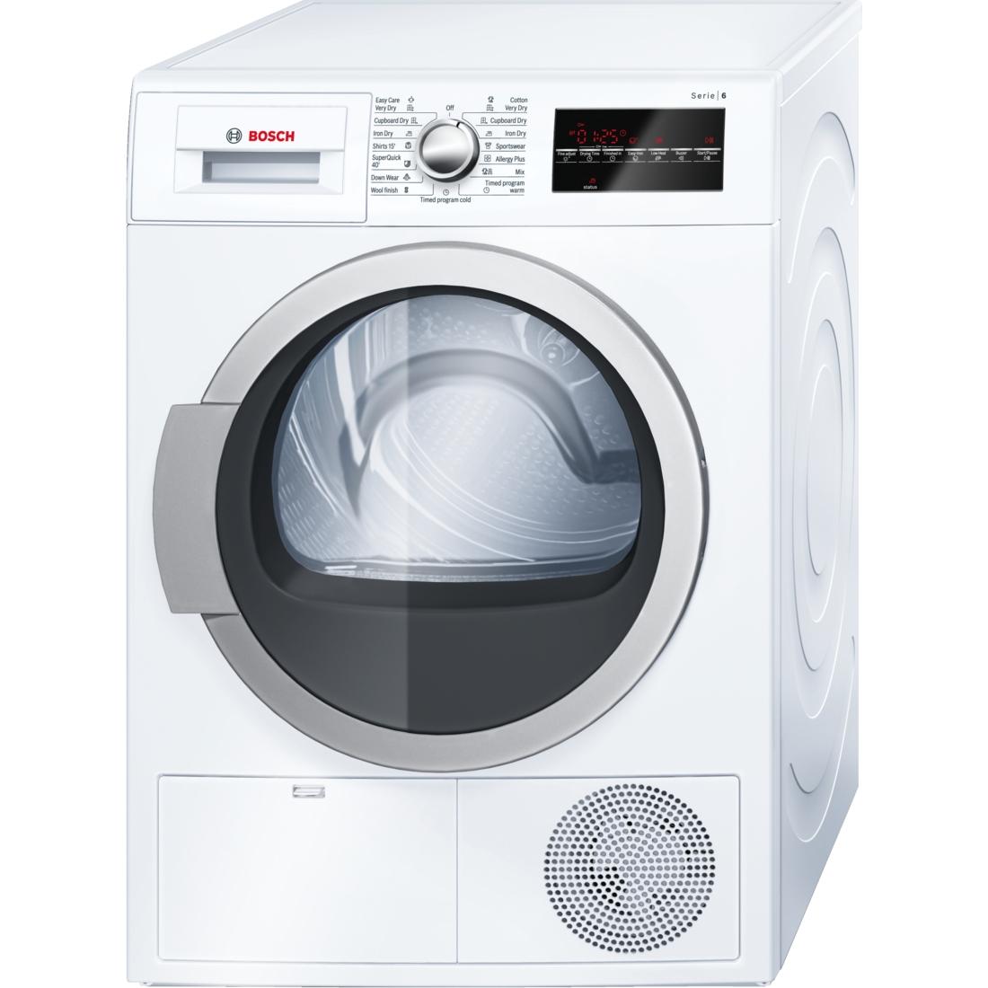 Similar Condenser Clothes Dryers. Bosch WTG86400AU