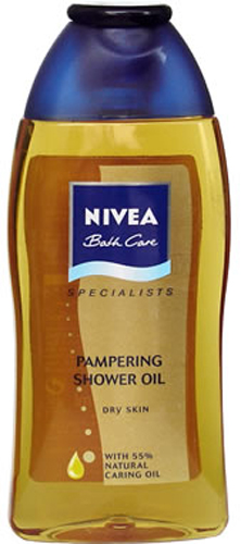 Nivea shower oil