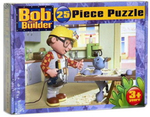 Bob The Builder 25 Pc Jigsaw Puzzle Bob Amp Pilchard