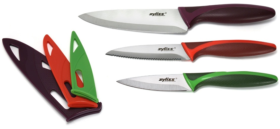 Zyliss 3pc Knife Set With Safety Covers Reviews