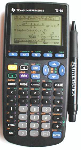 Cars For Kids >> Texas Instruments TI-89 Reviews - ProductReview.com.au