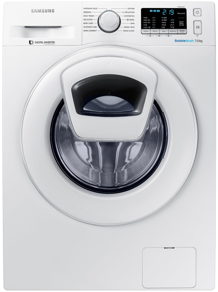 The washing machine Samsung does not squeeze and does not drain the water: what to do 82