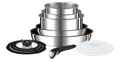 Tefal Ingenio Preference Stainless Steel Induction Set