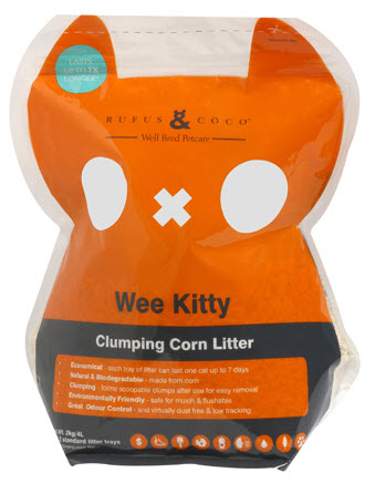 Kitty litter odor control