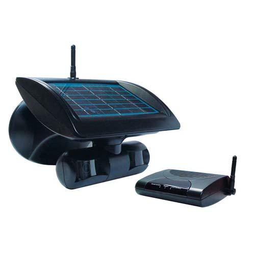 Watchguard Wireless Solar Powered Surveillance Camera With