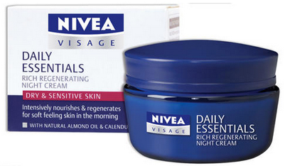 Nivea Daily Essentials Rich Regenerating Night Cream