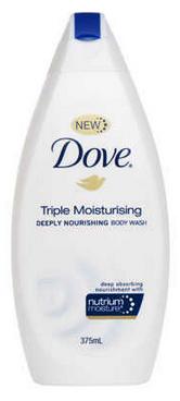 Dove Triple Moisturising Body Wash