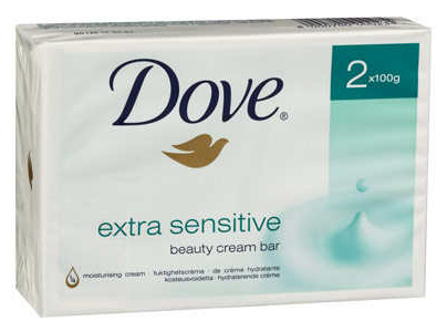 Dove Sensitive Beauty Cream Bar