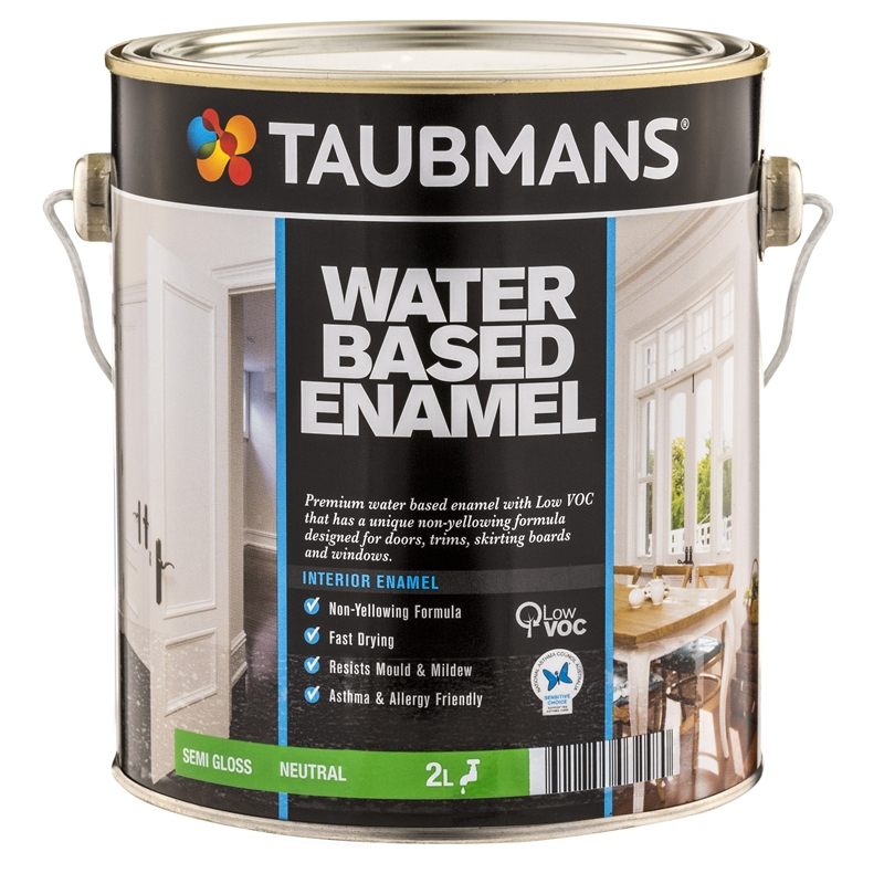 Taubmans water based enamel reviews for Exterior water based paint