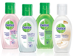 dettol instant hand sanitizer how to open