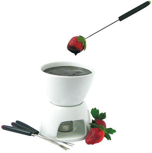 Avanti Stockholm 7pc Chocolate Fondue Ceramic Set Reviews