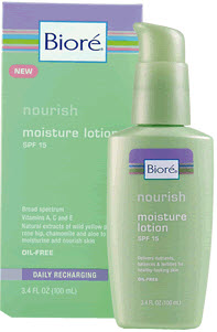 Bioré Nourish Moisture Lotion