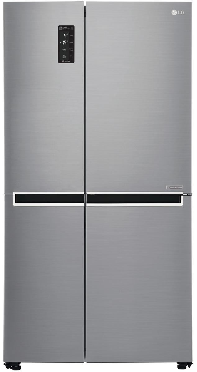 unusual refrigerator lg double door.  LG GS B680 Reviews ProductReview com au