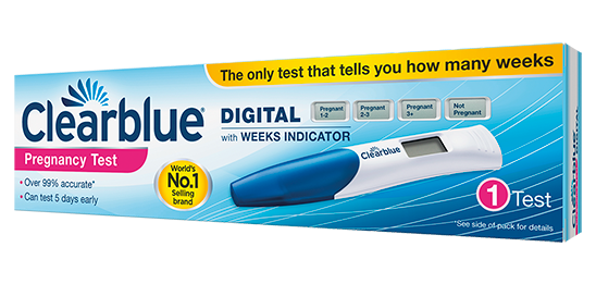 Clearblue Digital Pregnancytest With Weeks Indicator