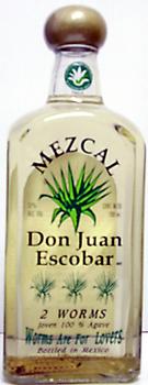 Don Juan Escobar Mezcal 2 Worm Reviews Productreview Com Au