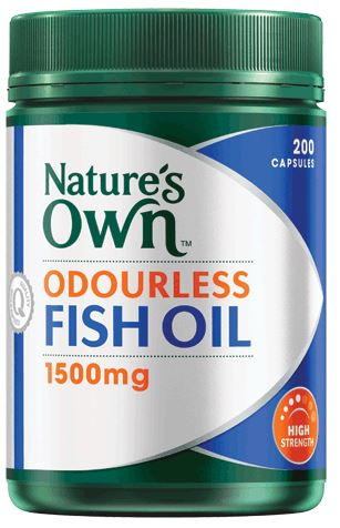 Nature 39 s own omega 3 odourless fish oil reviews for Fish oil for eczema