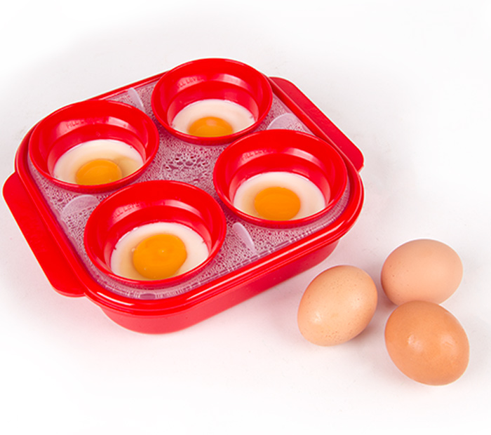 plastic egg poacher microwave instructions