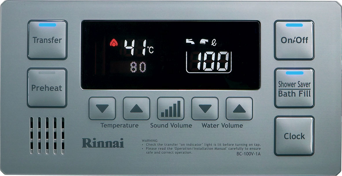 Rinnai Water Controller Questions & Answers - ProductReview.com.au