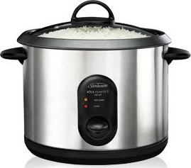 how to use a rice cooker sunbeam
