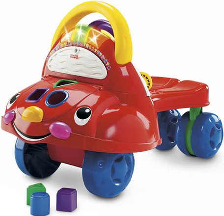 Fisher Price Walk And Ride Car
