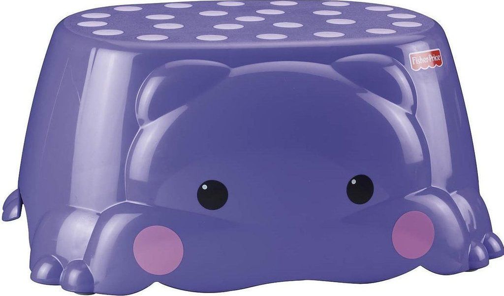 Fisher Price Precious Planet Hop On Hippo Step Stool P3326