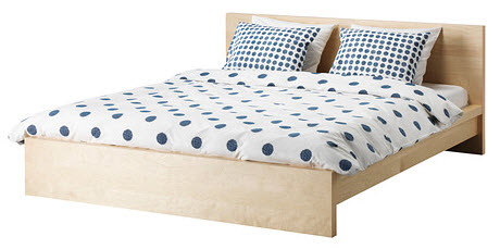 Ikea malm bed frames reviews for Ikea frame sizes australia