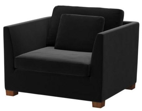 ikea stockholm 1 5 seat armchair reviews. Black Bedroom Furniture Sets. Home Design Ideas