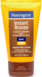 Neutrogena Instant Bronze Sunless Tanner and Bronzer In One Lotion