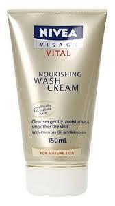 Nivea Visage Vital Nourishing Wash Cream