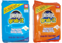 Pledge Grab It Electrostatic Dusting Cloths Reviews