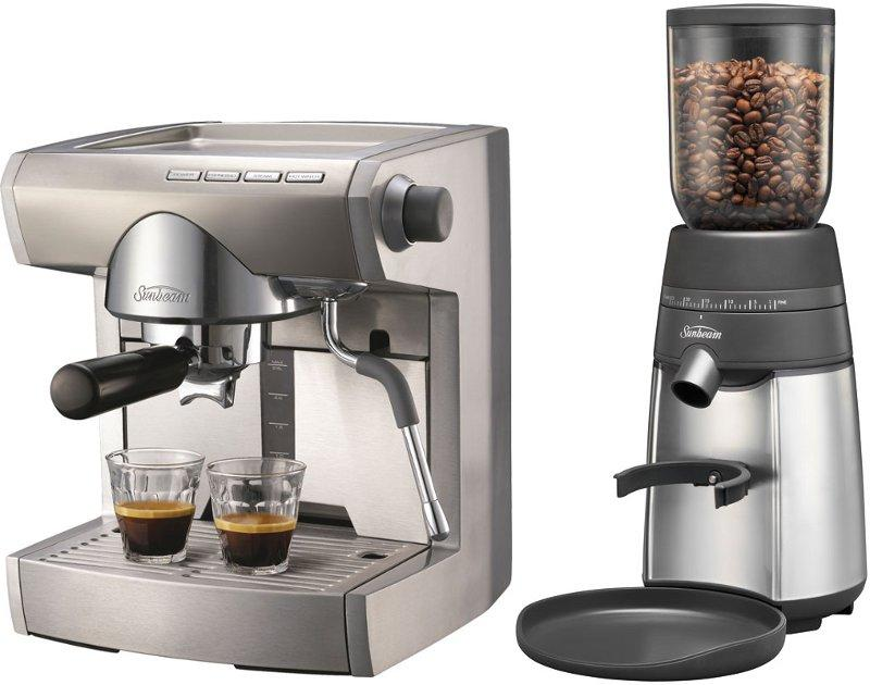 Sunbeam Artista Pu5900 Em5900 Machine Em0450 Coffee Grinder