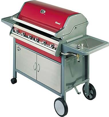 Rinnai Grand Cafe  Burner Bbq