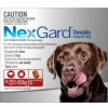 NexGard Chewables Red (For Dogs 25 - 50kg)