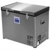 Techniice Stainless Steel Fridge / Freezer 80L