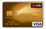 NAB Gold Visa / MasterCard