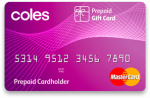 Coles Gift Mastercard