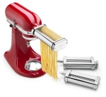 KitchenAid KSMPRA 3-Piece Pasta Roller & Cutter Set Attachment