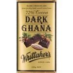 Whittakers 72% Dark Ghana
